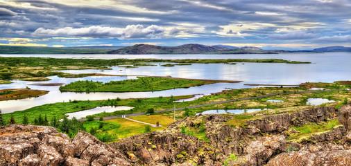 Thingvellir National Park, a UNESCO World Heritage Site - Icelan