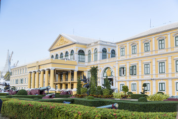 Building of the Ministry of Defense in Thailand