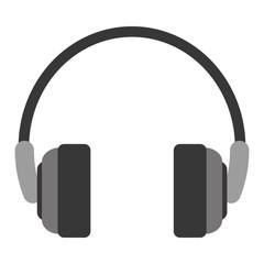 single headphones icon image vector illustration design