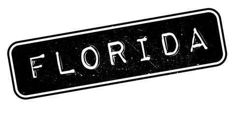 Florida rubber stamp. Grunge design with dust scratches. Effects can be easily removed for a clean, crisp look. Color is easily changed.