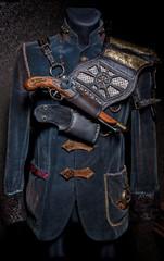 Handgefertigte Steampunk Schulterrüstung, Film / Theater Kostüm