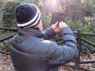 Fotografare il parco in autunno