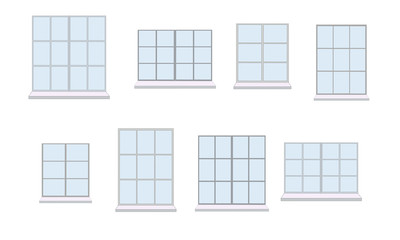 Collection of various window unit