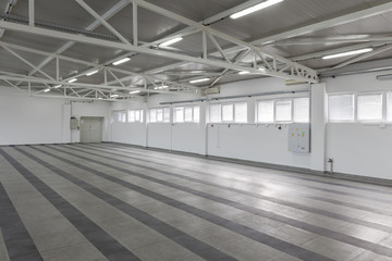 empty storage place
