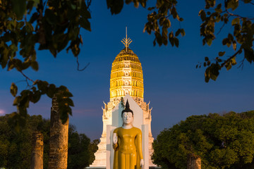 beautiful wat phra si rattana mahathat referred to as wat yai is