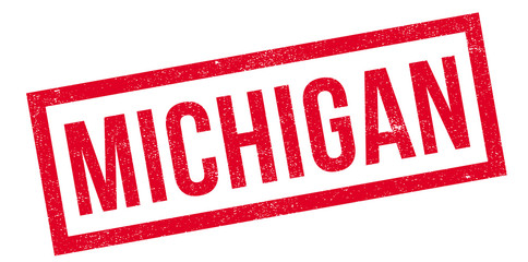 Michigan rubber stamp. Grunge design with dust scratches. Effects can be easily removed for a clean, crisp look. Color is easily changed.