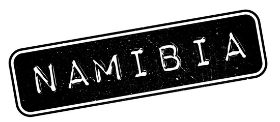 Namibia rubber stamp. Grunge design with dust scratches. Effects can be easily removed for a clean, crisp look. Color is easily changed.