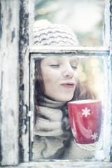 winter wellness woman