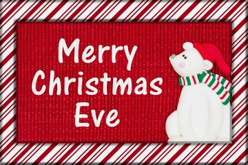 Merry Christmas Eve greeting