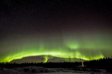 Aurora in north