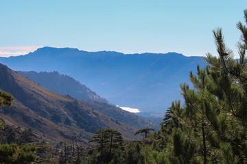 Mountain landscape, Corse, France.