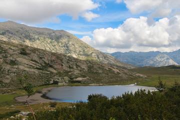 The Nino Lake, GR20 trail, Corse, France.