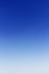 Blue sky background no cloud,soft focus
