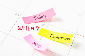 Choosing the right date time management.