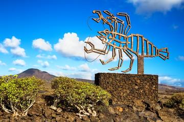 Jameos de agua sculpture, Lanzarote. Spain.