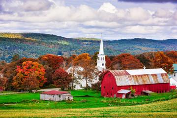 Rural Vermont USA