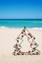 Small metal Christmas tree