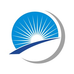 sun and light logo.