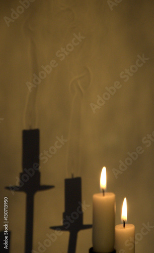 The Candles Shadow
