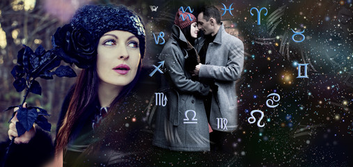 Love astrology, cosmic love of man and woman