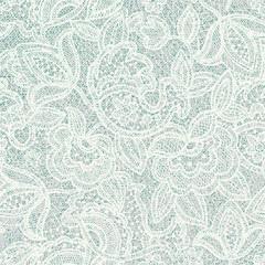 Lace floral pattern. Light contour backdrop