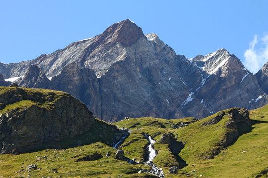 Valle d'Aosta montagne Breuil Cervinia