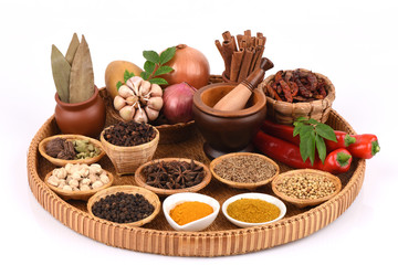 Curry powder, have medicinal properties.