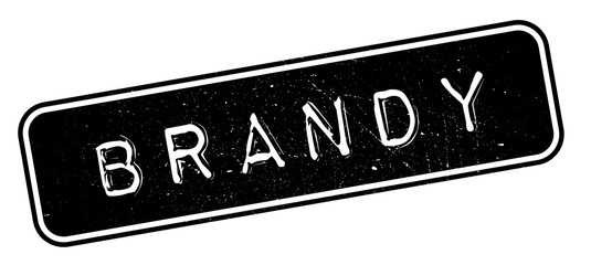 Brandy rubber stamp. Grunge design with dust scratches. Effects can be easily removed for a clean, crisp look. Color is easily changed.