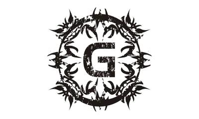 Rough Letter G