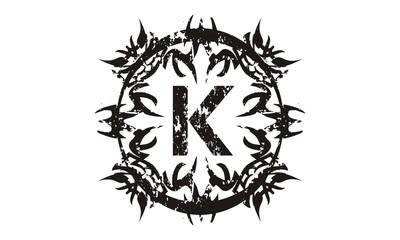 Rough Letter K