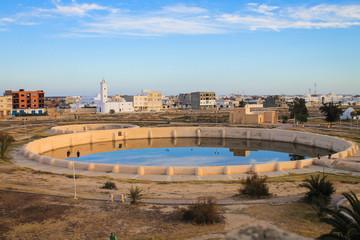 Aghlabids Tanks, Kairouan, Tunisia