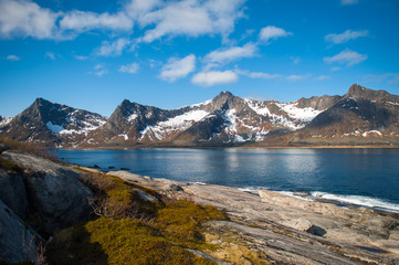 Mountains in the north of Norway.
