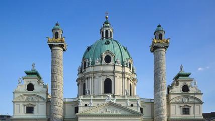 Wien - Karlskirche, Österreich