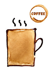 Coffee cup sketch
