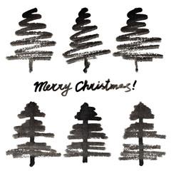 Simple Christmas trees