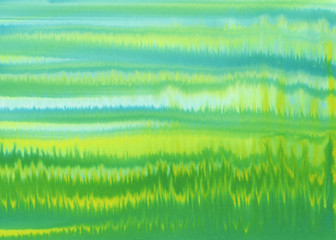 yellow green strips watercolor background