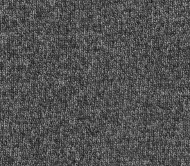 Grey color knitting cloth texture.