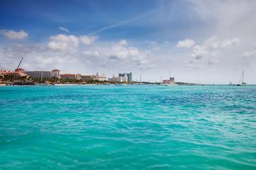 Fototapete - Palm Beach, Aruba