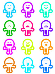 Emojiman colors