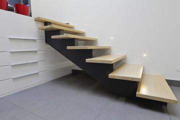 escalier hall d'entrée intérieur maison