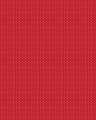 White dots on a red background, seamless vector pattern