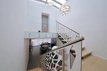 cage d'escalier design contemporain