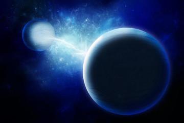 Alien planets in universe