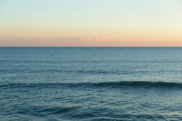 Beautiful Seascape and sunset