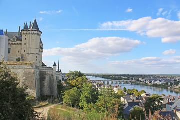 Saumur Castle and River Loire