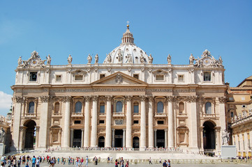 St. Peter's Basilica in Vatican, Italy