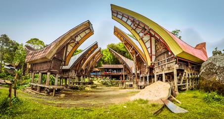 Traditional architecture in Toraja