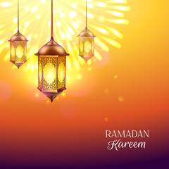 Ramadan Colored Illustration