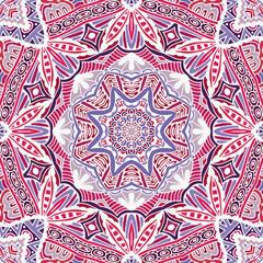 mandala lace seamless pattern