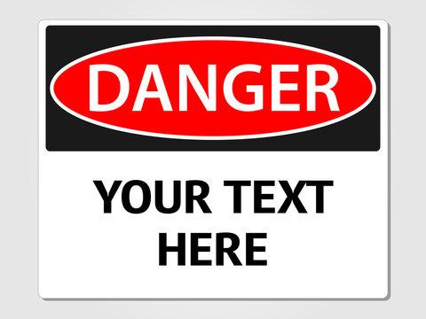 Danger Sign Illustration